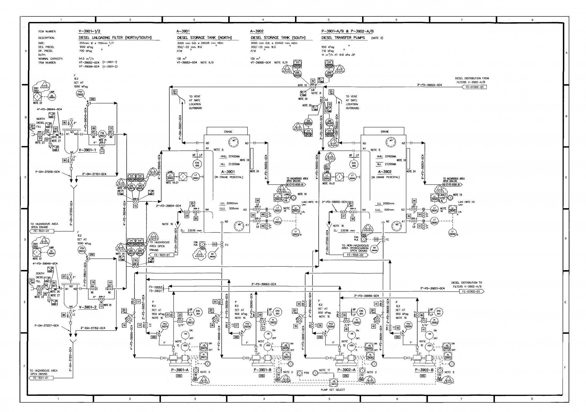 Electrical Power Plant Schematic