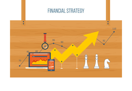 graph of financial management company