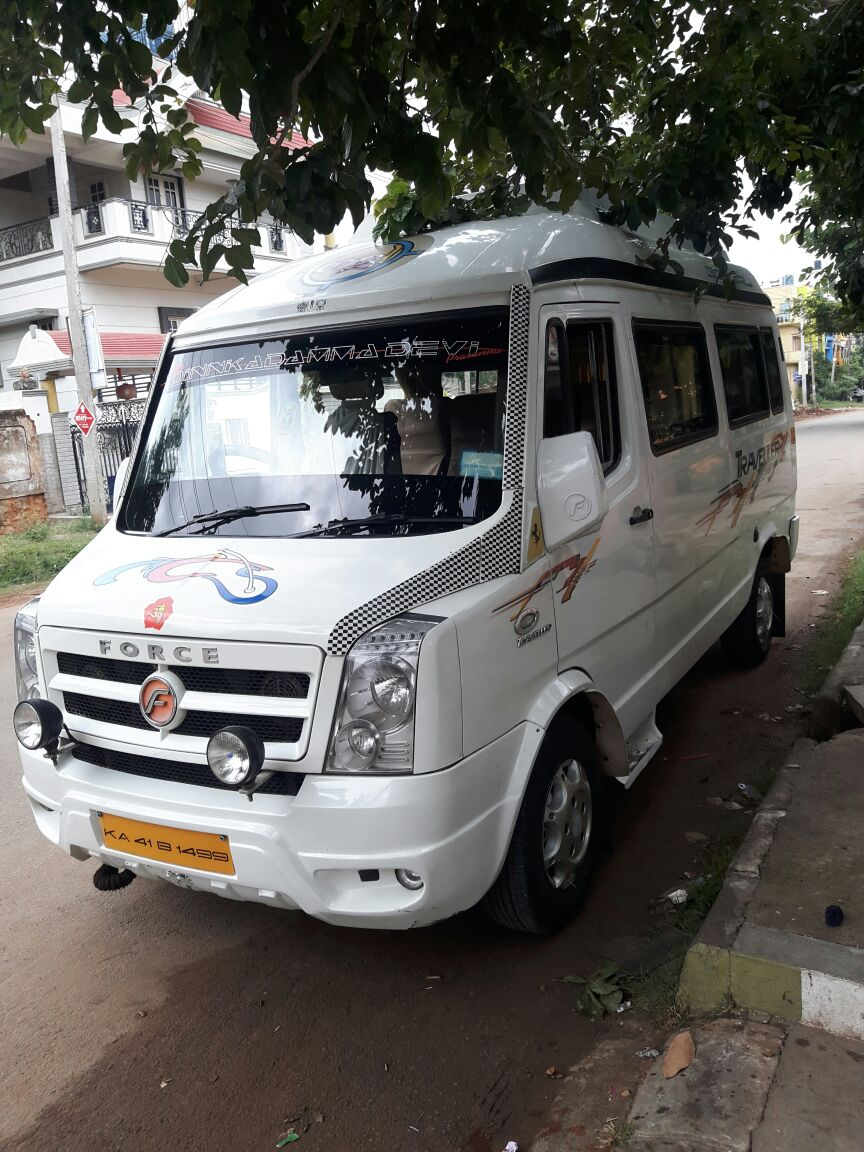 tempo traveller rent near me