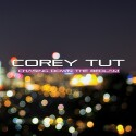 "Corey Tut ""Chasing Down The Bedlam"" CD cover and website link."