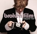 """SONiA Disappear Fear """"Broken Film"""" CD cover and website link."""