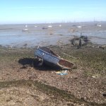 Boat Wreck on the Saxon Shore Way