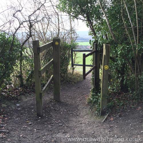Blue Bell Hill Gate