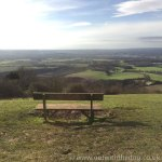 Blue Bell Hill Bench View