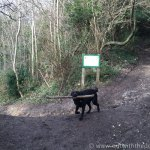 Blue Bell Hill footpath junction