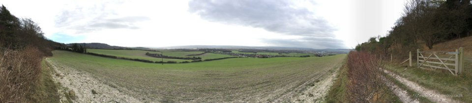 Blue Bell Hill Panorama