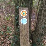 Cliffe Woods Circular walk Sign