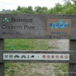 Riverside Country Park Motney Hill Sign