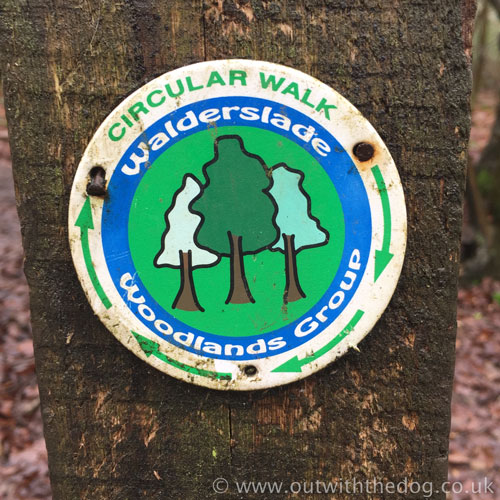 Walderslade Woods Circular Walk Sign