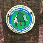 Walderslade Woods Circular Walk Sign