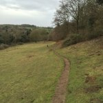 Queendown Warren - Downhill path