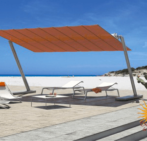 Parasols design orange