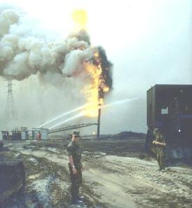 L'affaire des puits de pétrole du Koweit incendiés en 1991 rallumée