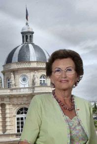 Muguette Dini, la sénatrice à l'origine de la proposition de loi.