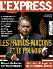 Couverture de L'Express en 2008