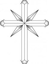 Emblème de l'église de scientologie.