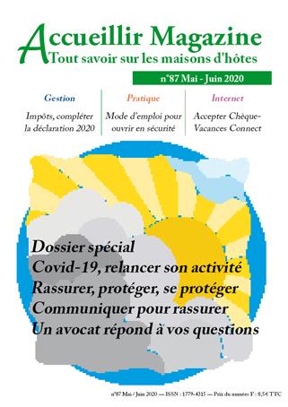 Accueillir Magazine n°87 mai/juin 2020