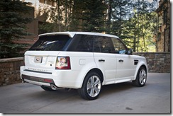 2011 RANGE ROVER SPORT GT LIMITED EDITION Rear