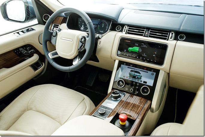 2018 Range Rover PHEV - Interior (1)
