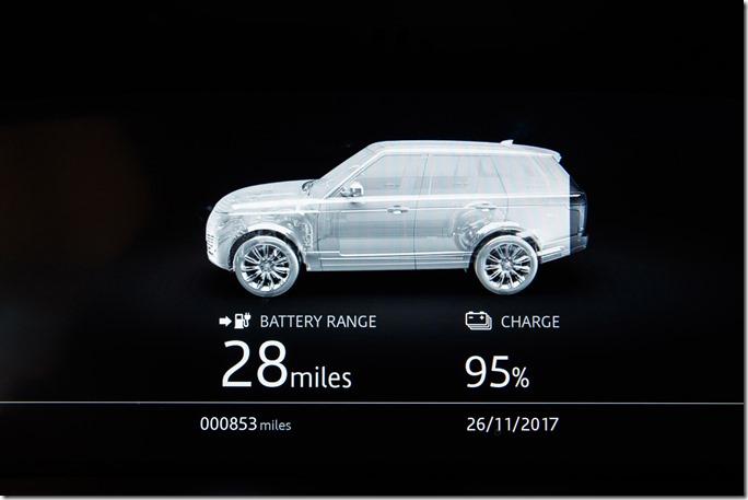 2018 Range Rover PHEV - Interior (7)