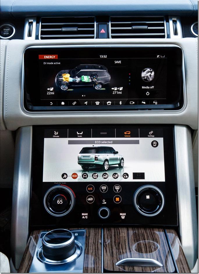 2018 Range Rover PHEV - Interior (8)