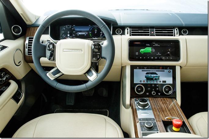 2018 Range Rover PHEV - Interior (9)
