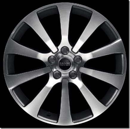 20in 10-Spoke Alloy Wheel Diamond Turned Finish 'Style 8' - Autobiography Sport