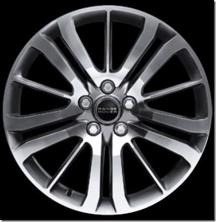 20in 15 Spoke Alloy Wheel Diamond Turned Finish (Style 4)