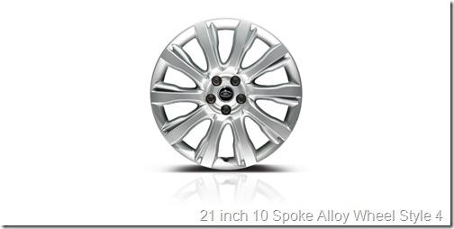 21 inch 10 Spoke Alloy Wheel Style 4