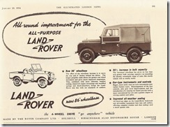 All-round improvement for the All-Purpose Land-Rover