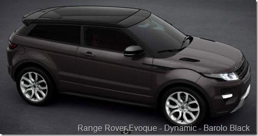 Range Rover Evoque - Dynamic - Barolo Black