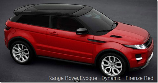 Range Rover Evoque - Dynamic - Firenze Red