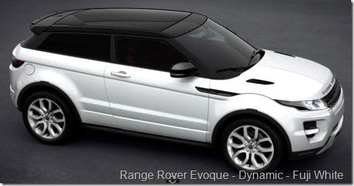 Range Rover Evoque - Dynamic - Fuji White
