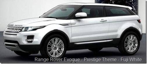 Range Rover Evoque - Prestige Theme - Fuji White