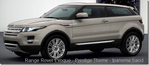Range Rover Evoque - Prestige Theme - Ipanema Sand