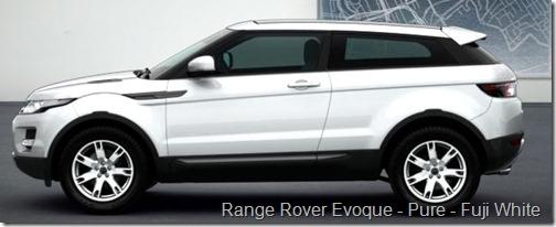 Range Rover Evoque - Pure - Fuji White