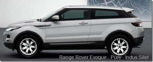 Range Rover Evoque - Pure - Indus Siler