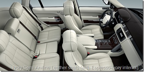 2013 Range Rover Interior color options What color is a Brogue