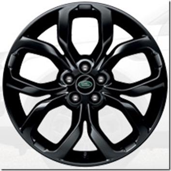L550-19 inch Five Split-Spoke 'Style 521' with Gloss Black Finish