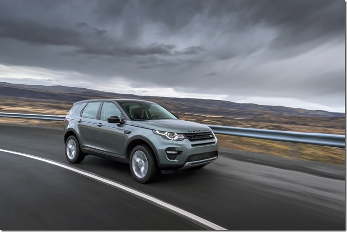 Land Rover Discovery Sport in Iceland - Scotia Green (1)