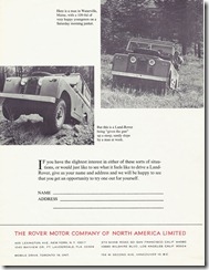 Land-Rover - If you have the slightest interest...