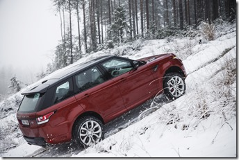 MY2014 Range Rover Sport in the Snow (6)
