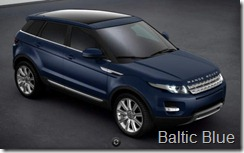 Range Rover Evoque 5-door Prestige - Baltic Blue