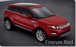 Range Rover Evoque 5-door Prestige - Firenze Red