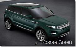 Range Rover Evoque 5-door Prestige - Kosrae Green