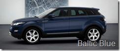 Range Rover Evoque 5-door Pure - Baltic Blue