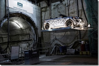 Range Rover Evoque Convertible at Crossrail (5)