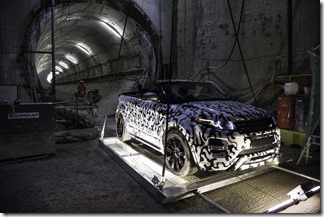 Range Rover Evoque Convertible at Crossrail (6)
