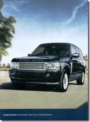 Range Rover - Designed for the Extraordinary