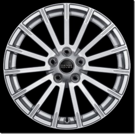 Standard HSE – 19in 15 Spoke Alloy (Style 5)